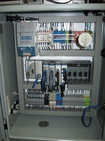 Process Control Panel Interior