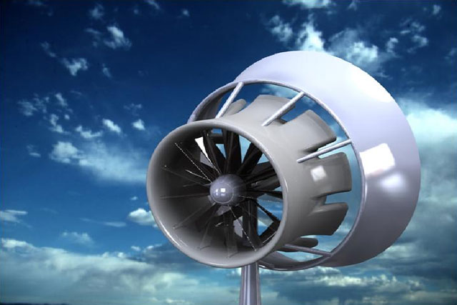 Flodesign Wind Turbine