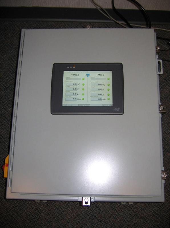 Process Control Panel Exterior
