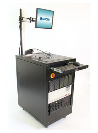 Turnkey tester for industrial cameras