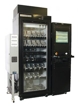 Highly accelerated stress screen and burn-in tester for semiconductor equipment subassemblies