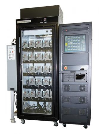 Highly accelerated stress screen and burn-in tester for semiconductor equipment subassembly
