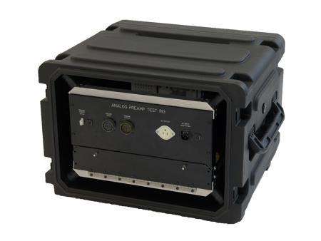 Rugged portable pre-amplifier test system