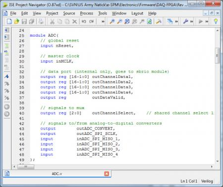 Verilog source code